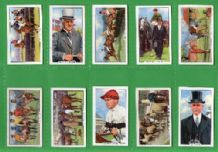 Horse racing Tobacco Cigarette cards Racing Scenes 1938